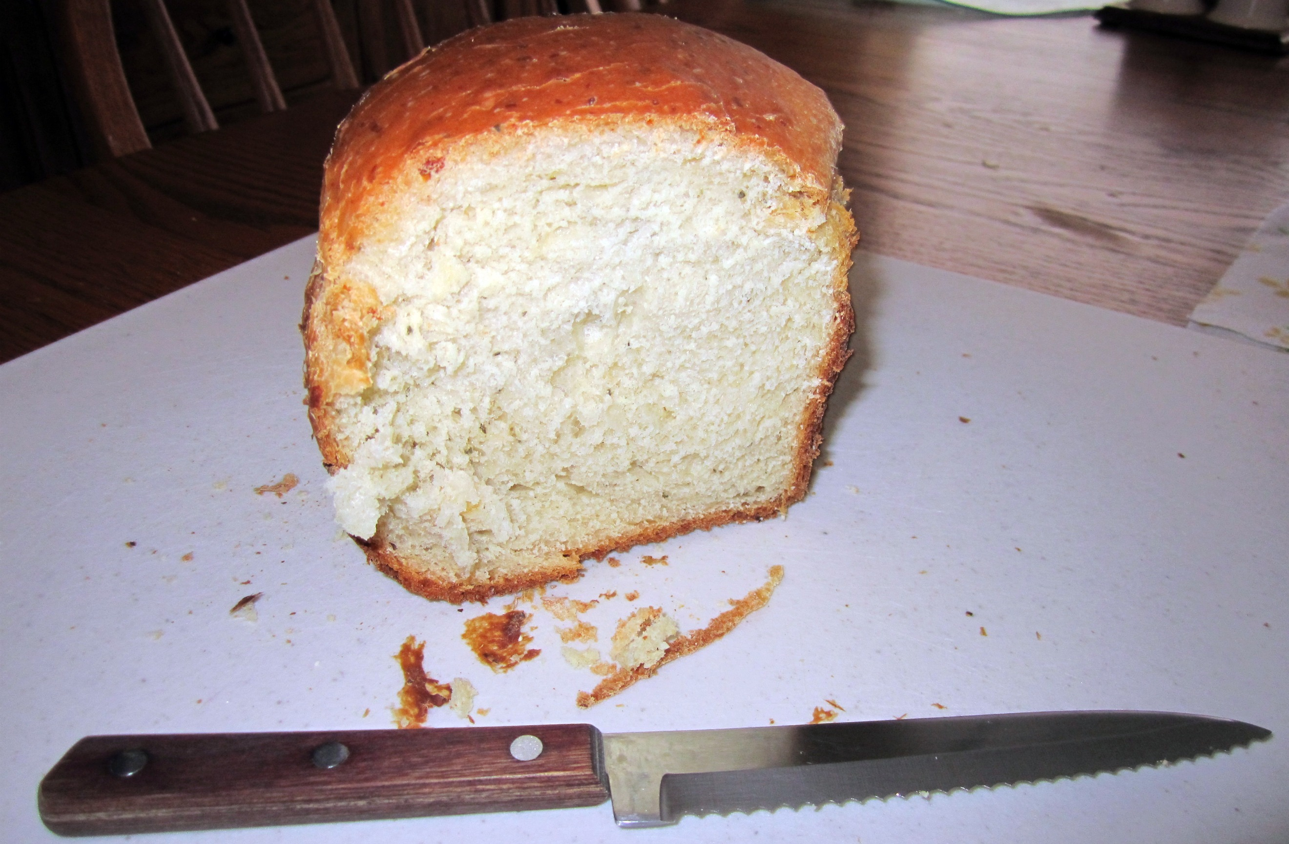 1 lb herb cheese bread loaf