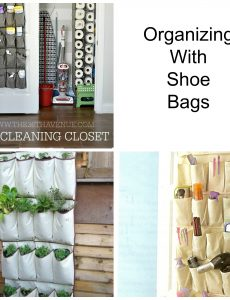 Great Ways to Organize with Shoe Bags