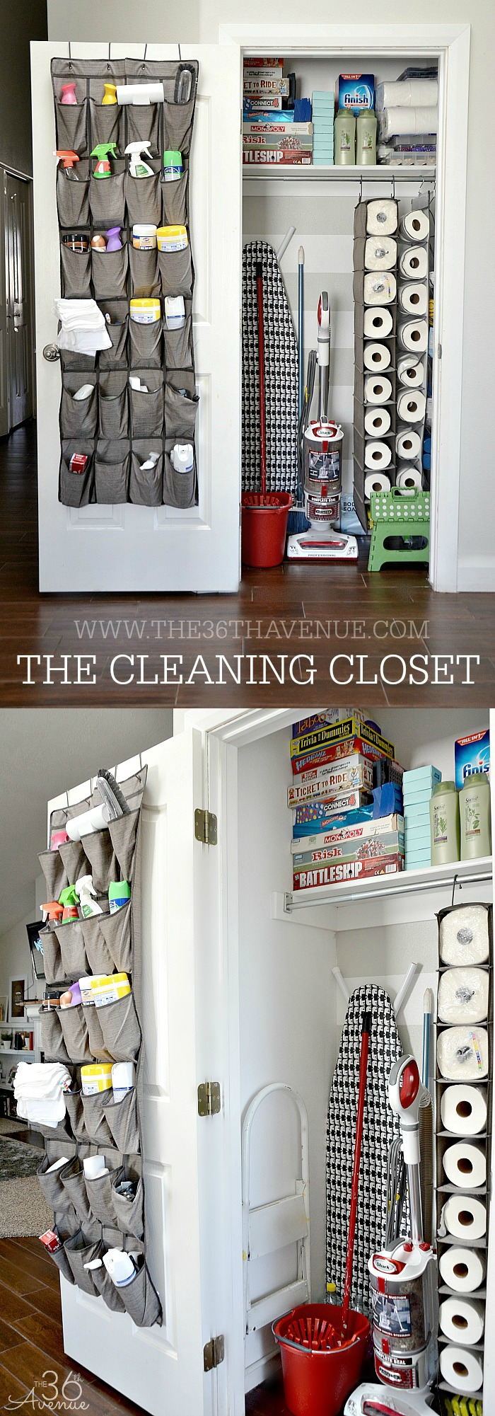 Shoebags are a great way to add organization to the home
