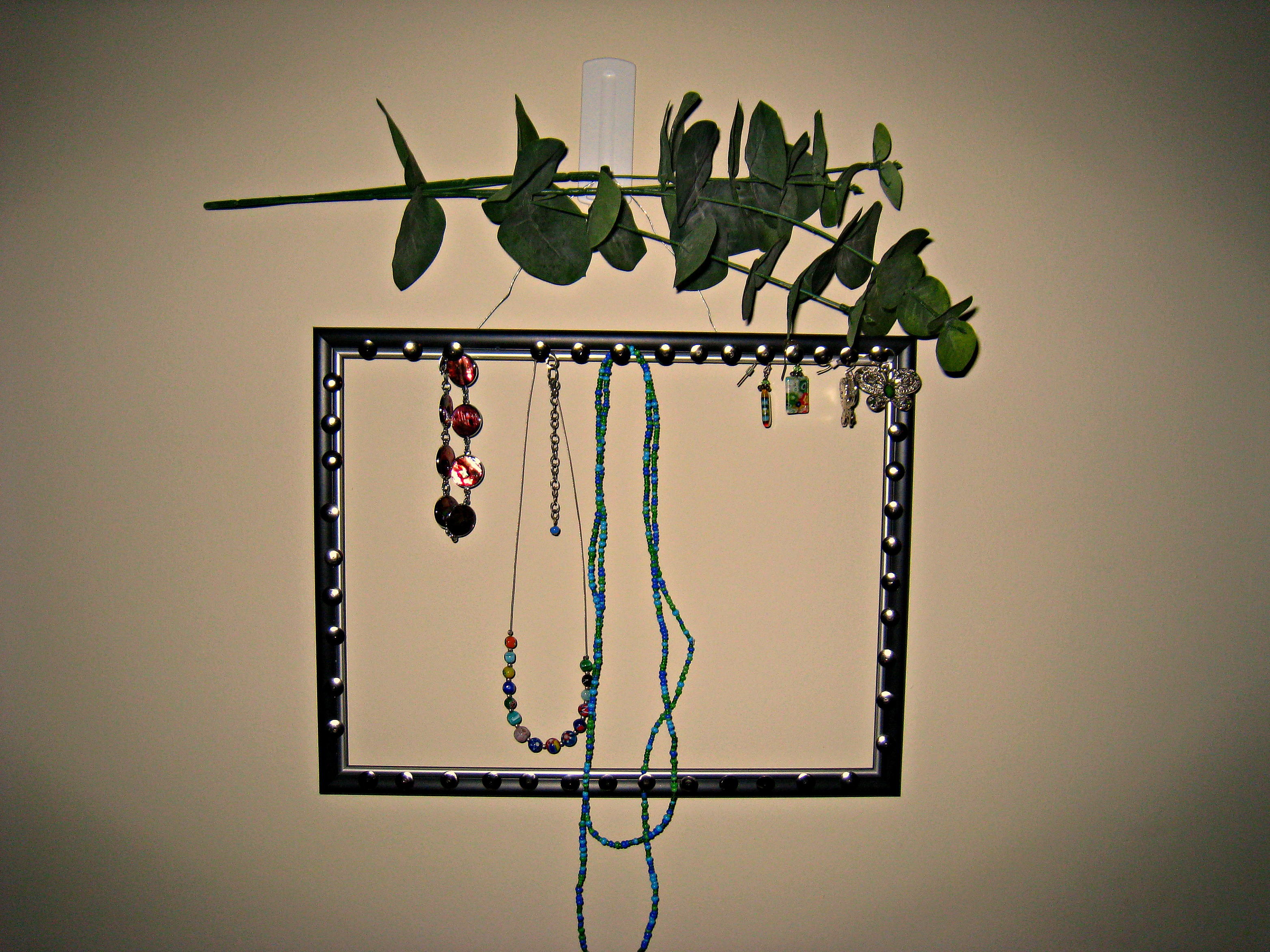 Jewelry Organizer Diy Jewelry Organizer