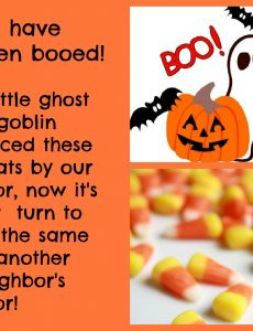 "Time to ""Boo"" the Neighbors!"