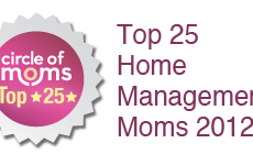 Mom Home Guide Places in Top Blog Contest