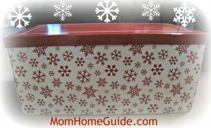 Christmas, ornament, storage, box