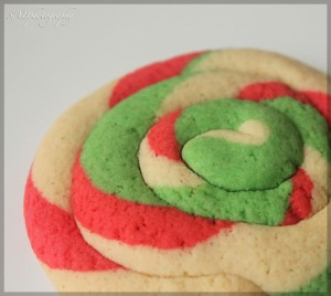 Christmas, swirl, cookies