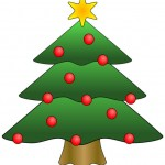 christmas, tree, clipart