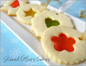 stained glass, sugar, cookie, candy, christmas, recipe