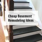 cheap basement remodeling ideas