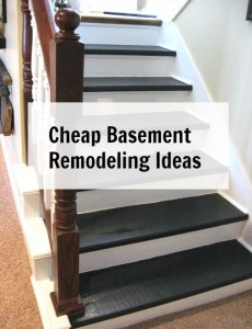 Cheap Basement Remodeling Ideas
