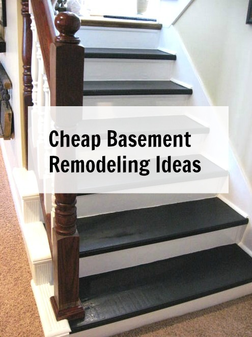 Cheap Basement Remodeling Ideas Impressive Basement Stairs Finishing Ideas Decor