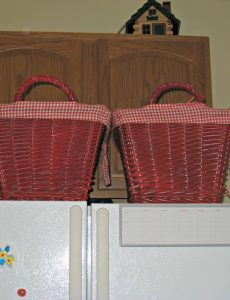 Baskets for Kitchen Organization