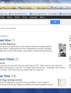 Find Your Mom Blogs on Google Reader