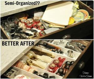 how to, organize, drawer