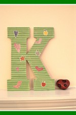 craft, letter, Mod Podge, decoupage, craft