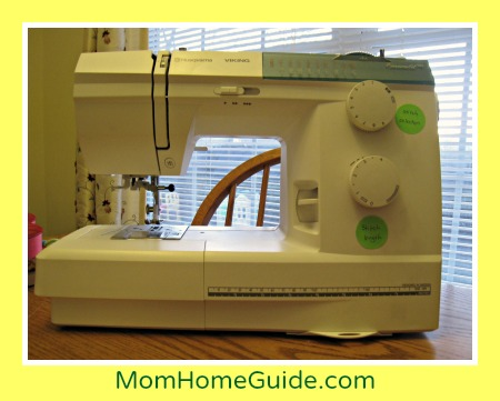 Husqvarna, sewing, machine, girl scout, patches