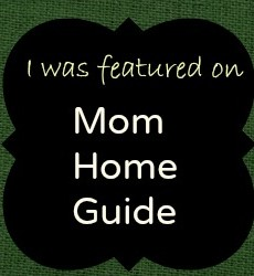 Watch for Mom Home Guide's First Linky Party on Tuesday