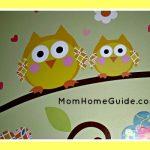 owl mural, kids
