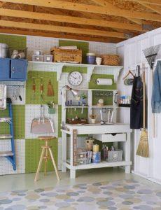 garage, pegboard, organize