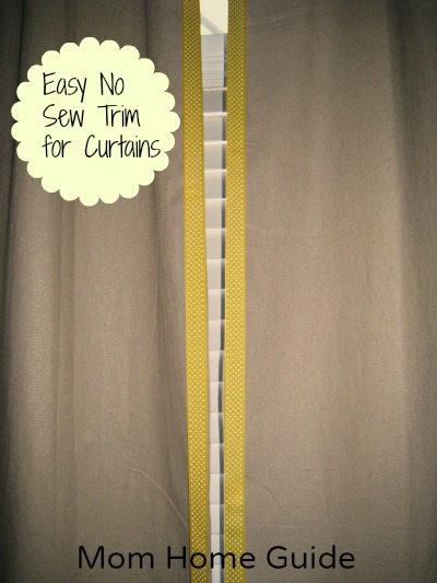 Ribbon Trim, No Sew, Velcro, Curtains, Craft