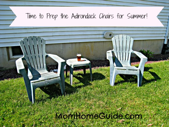 Adirondack Chair. Prep Your Outdoor Es For Summer Entertaining  U003e Source. Can  You Paint Plastic ...