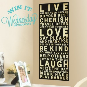 Wall art to cover unfinished basement walls for Word wall art