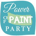 power of paint linky party button