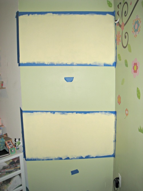 chalkboard paint, wall, stripe, low-voc paint, lullaby paints