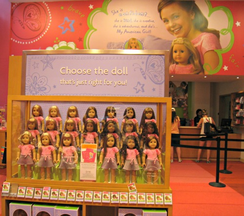 American Girl Place, New York, Manhattan