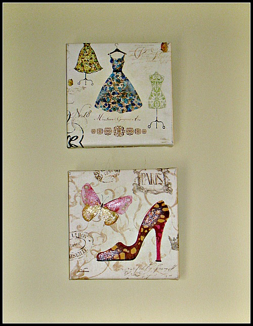 fashion prints, bathroom