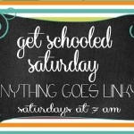 get school saturday linky party