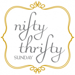 nifty thrifty sunday linky party button