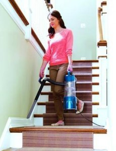 bissell, vacuum, stairs