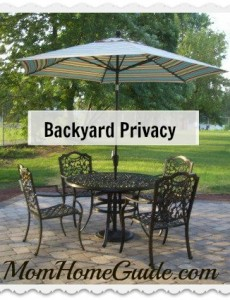 how to get patio privacy