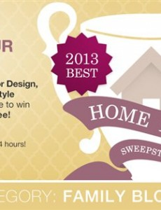 Vote for Mom Home Guide and $500 Lamps Plus Giveaway
