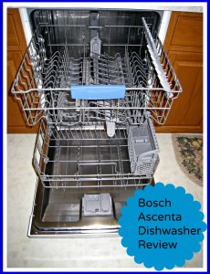 bosch ascenta dishwasher review