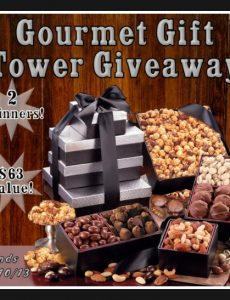 Gift Tower Rafflecopter Giveaway