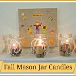 Fall Mason Jar Candles