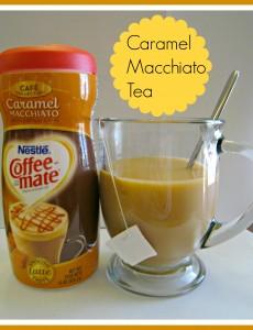 Caramel Macchiato Tea