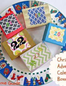 Christmas Advent Calendar Boxes