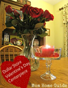 Dollar Store Valentine's Day Centerpiece