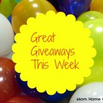 Great Giveaways This Week
