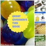 Great Giveaways This Week