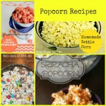 Four Popcorn Recipes — National Popcorn Day