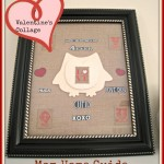 Framed Valentine's Day Collage