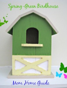 Painted Craft Birdhouses
