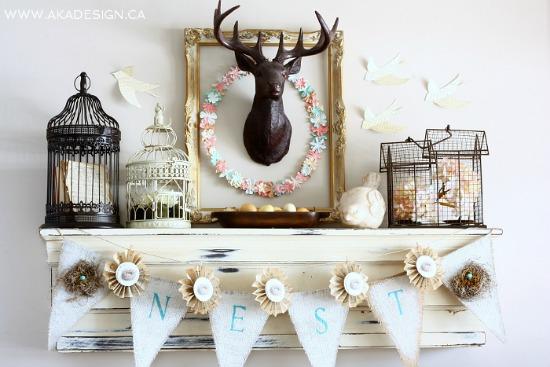 paper, flower, wreath