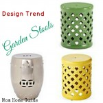 Crushing on Garden Stools