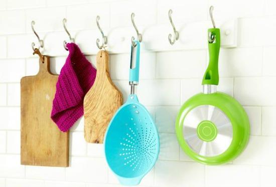diy, pot, rack, easy, storage, organize, kitchen, organization