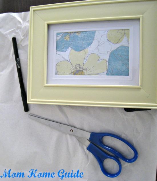 frame, scrapbook, paper