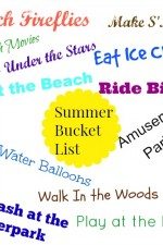 summer, bucket, list, free, printable