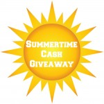 Summertime Cash Giveaway